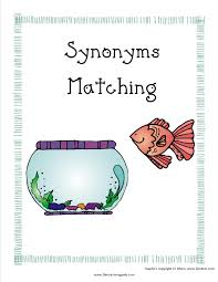antonyms and synonyms worksheets from the teacher u0027s guide