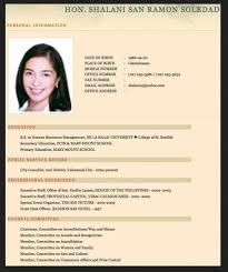 resume format 2017 philippines resume sle for fresh graduate jennywashere com