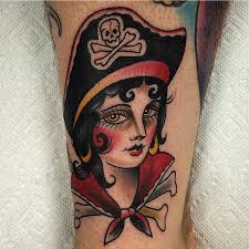 pirate lady andy wiszowaty bugaboo tattoo hammond indiana tattoos