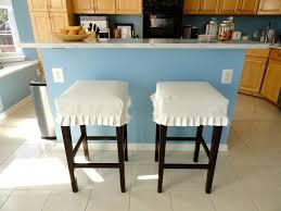 Blue Bar Stools Kitchen Furniture Bar Stool Slipcovers Homesfeed
