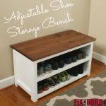 Tjusig Bench With Shoe Storage Tjusig Bench With Shoe Storage White Ikea Shoe Bench White Genie