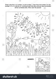 100 christmas connect the dots dot to dot and coloring page