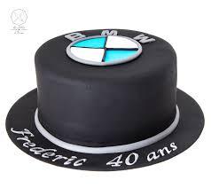 logo bmw cake design gâteau personnalisé en pâte à sucre sur le thème logo