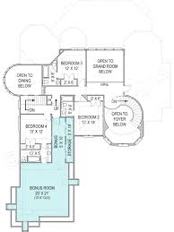 Courtyard Homes Floor Plans by Hennessey Courtyard Luxury Floor Plan 4000 Sq Ft House Plan