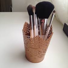 Bedroom Ideas Rose Gold Diy Rose Gold Brush Holders Diy Crafts Pinterest Brush