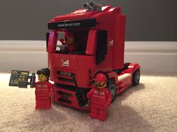 ferrari truck lego f14 t u0026 scuderia ferrari truck review set 75913 one dad