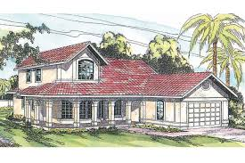 Spanish Style Homes Plans Spanish Style House Plans Kendall 11 092 Associated Designs