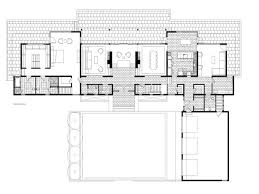Contemporary Floor Plan by 100 Modern Houses Floor Plans Small House Plan Small