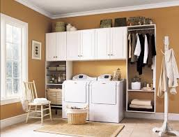 Laundry Room Cabinets With Hanging Rod Laundry Cabinets With Hanging Rod Home Interiors