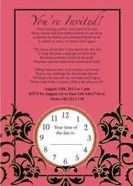 around the clock bridal shower around the clock bridal shower invitation printable bridal