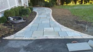 custom stoneworks u0026 design inc flagstone walkway in ellicott city md