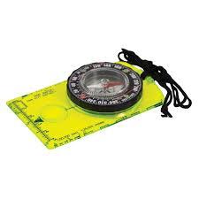 Map Compass Hi Vis Deluxe Map Compass Ust Brands