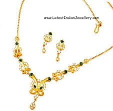 girl with gold necklace images Gold wedding rings indian gold necklace for baby girl jpg