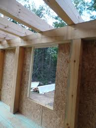 custom post and beam home under construction part 6
