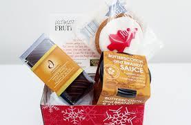 mini christmas sweet treats hamper corporate gift food baskets