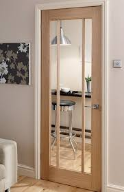 Interior Doors Pictures Langdale Worcester Oak 3 Light Glazed Interior Door