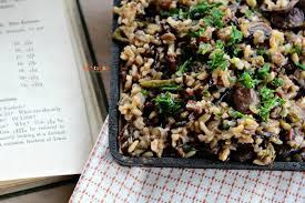 Asparagus Dishes Main Course - mushroom asparagus wild rice vegetarian mamma