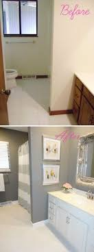 bathroom renovation ideas for budget before and after 20 awesome bathroom makeovers diy bathroom