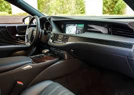 lexus interior 2018 2018 lexus ls 500 review