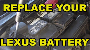 stevens creek lexus tires how to change the battery in your lexus youtube