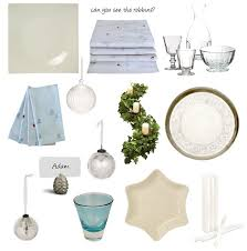 Ice Blue Christmas Table Decorations blue ice table decoration ideas for christmas dear designer