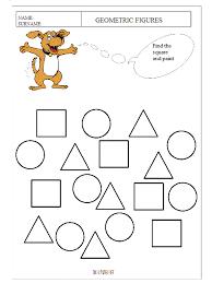 shapes worksheet kindergarten kelpies