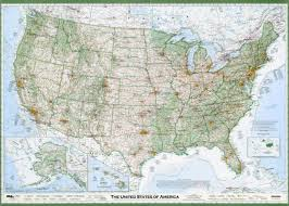 usa map kindergarten the best american wall map david imus the essential geography