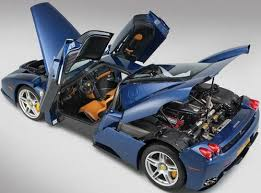 blue enzo the only blue enzo to be auctioned soon extravaganzi