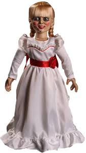 annabelle costume collectables the conjuring annabelle prop replica doll buy