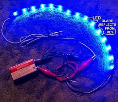 led battery operated strip lights can i run different voltage leds off a 9v battery