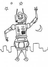 robots coloring pages kids print u0026 color