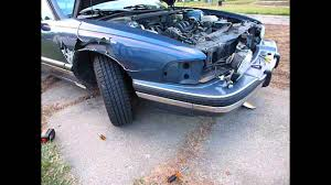 buick lesabre front fender replacement youtube