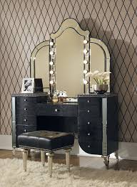 Bedroom Vanity Mirror With Lights Bedroom Bedroom Vanity Mirror With Lights Set Inside For Lowes