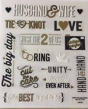 wedding scrapbook stickers wedding cardmaking scrapbooking stickers ebay