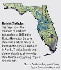 maps of sinkhole homes sinkhole maps in florida and the usa
