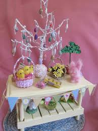 Dolls House Easter Decorations by 134 Best Miniature Easter Images On Pinterest Dollhouse