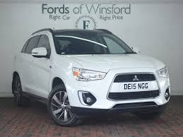 asx mitsubishi 2014 used mitsubishi asx white for sale motors co uk