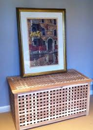 my ikea hack hol storage table to laundry basket u2014 life at 139a