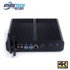 petit pc de bureau intel 7th i7 fanless desktop pc windows 10 pro wifi mini pc 2 yr