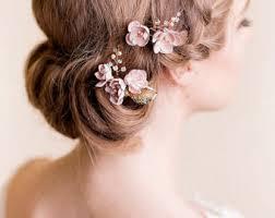 flower hair accessories wedding hair accessories flowering handmade by florentes
