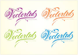 vector typography tutorial to add decorative glamour to your ordinary script font