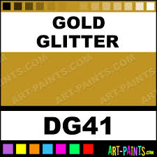 gold glitter acrylic enamel paints dg41 gold glitter paint