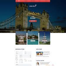 Travel Web images Travel agency free responsive website template jpg