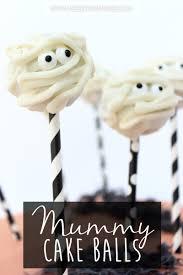Halloween Cake Balls by Mummy Cake Balls