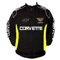 corvette racing jacket race car jackets corvette c5 z06 racing jacket black and yellow