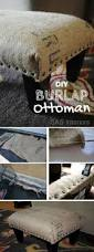 Diy Reupholster Ottoman by Best 20 Ottomans Ideas On Pinterest Diy Ottoman Upholstery And