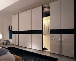 White Gloss Furniture Extra Large Wardrobe Design With Sliding Doors And White Gloss