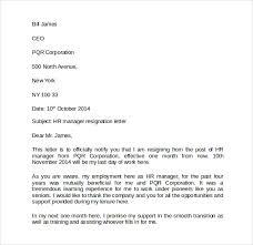 resignation letters u20138 free samples examples u0026 formats