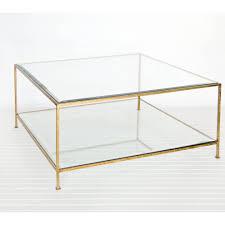 glass coffee table metal frame nucleus home
