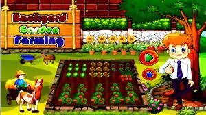 backyard garden farming plant multiple veggies and fruits